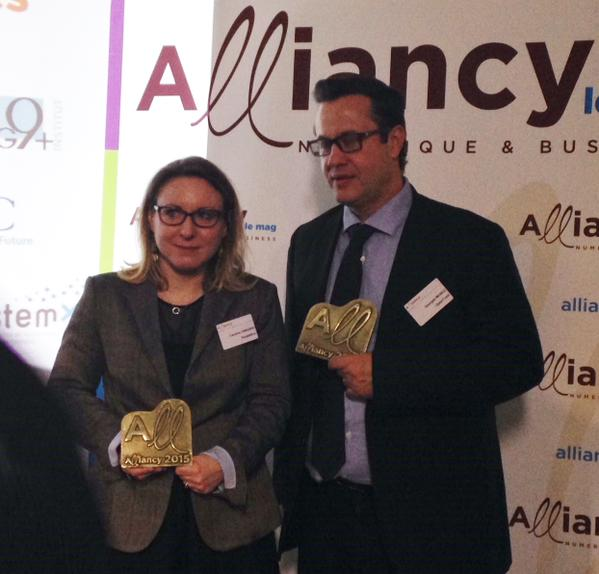 OpenTrust trophée Alliancy